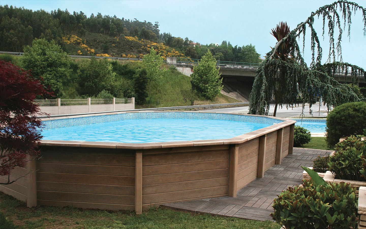 Piscinas naturalis by rp industries for Aspirateur piscine leroy merlin