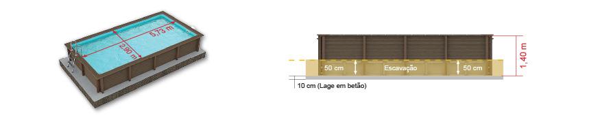 Piscina modelo Retangular 02